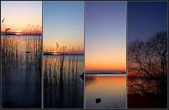 The Sun set(s) (Kirsten M Lentoft) Tags: sunset topc25 topv111 denmark fdsflickrtoys mosaic supershot mybestpicture supershots arresø arresoe momse2600 wowiekawozie kirstenmlentoft fotokonkurrencerdkuge342009