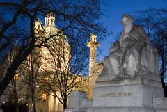 Vienna Karlskirche (Twilight Tea) Tags: vienna night austria february 2007 karlsplatz karlskirche