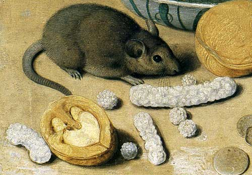 Georg Flegel, Dessert Still Life (detail)