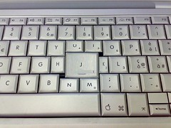 image of Google Reader keyboard