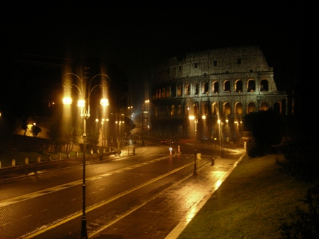 Collosseum at Night