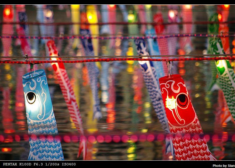 安平-美麗的虱目魚燈籠