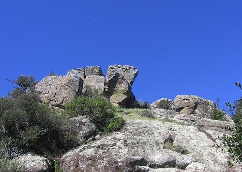 Rocky peak.