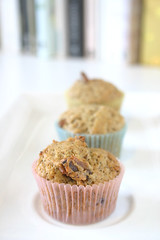 Wattleseed and Date Mini Muffins