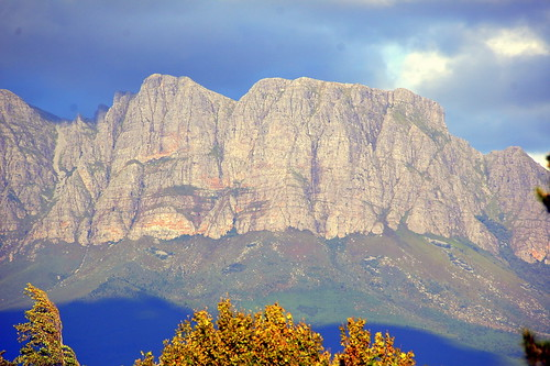 Evening Light on the Hottentots Holland