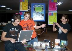 Peru Public Library Teen Tech Week Display