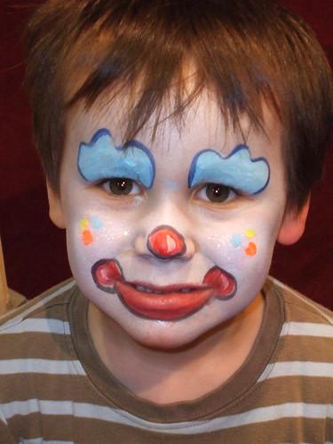 43d3887df Clown Face Painting | Face Painting Ideas