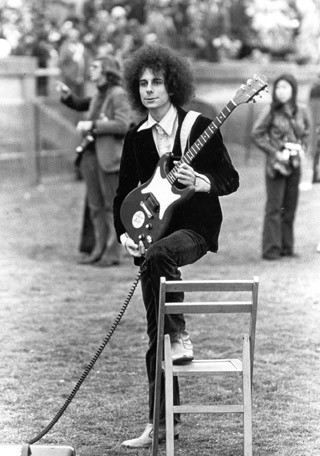 Gary Lucas with Yale Marching Band 1972