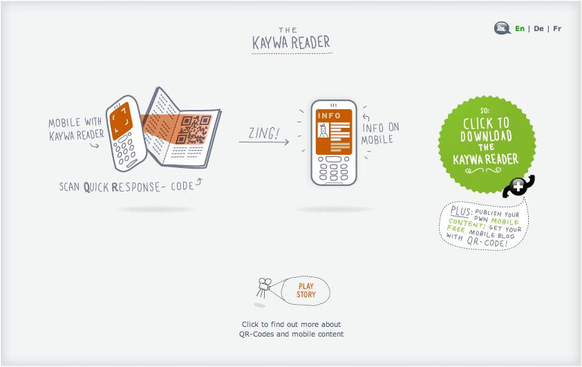 Kaywa Feed2Mobile Process