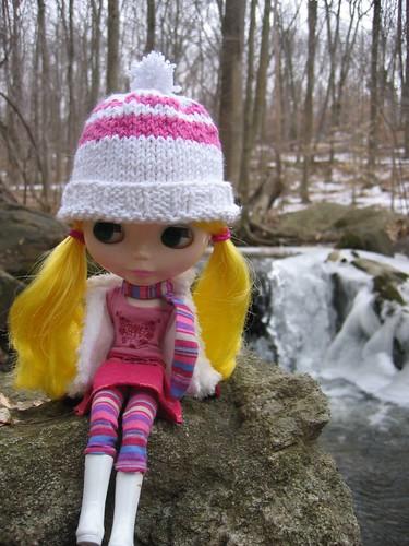 Sitting by the stream by Say Llama.