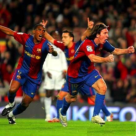 Força Barça / Messi's Hat Trick / Che Que bueno que viniste !  Messi t'estimo ! por cat88.
