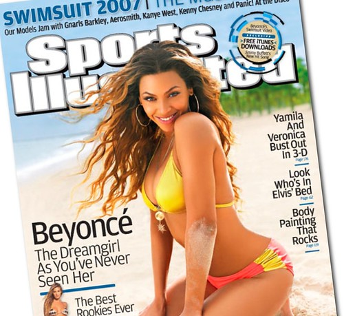 Sports Illustrated Swimsuit Issue Cover with Beyonce Knowles