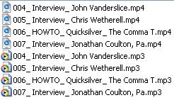 MediaCoder Files