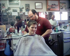 Nancy 22 (zermat31) Tags: haircut barbershop capes barber hairdressers