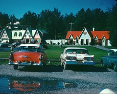 Old Cars 1960 (Darth Bengal) Tags: newyork canada ford french edsel lakegeorge language vintagecars 1960 amusementparks nurseryrhymes mothergoose storytown needalittlehelp