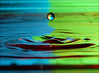Water Drops (Abdulrahman BinSlmah) Tags: uk blue green home apple water by speed lens 50mm for drops amazing aperture nikon soft exposure all zoom box g flash © d70s battery sigma drop iso rights micro saudi if pro 100 af nikkor trippy photographed sec 70300mm topv3333 1320 2009 reserved vr  afs d300 105mm 0004 sb800 f23 f4556 topvaa f28g abdulrahman strobist aplusphoto sb900 favemegroup5 dropswater botopv0507 ccpb0507 extreme® compactflash® ρнσтσgяαρнєя