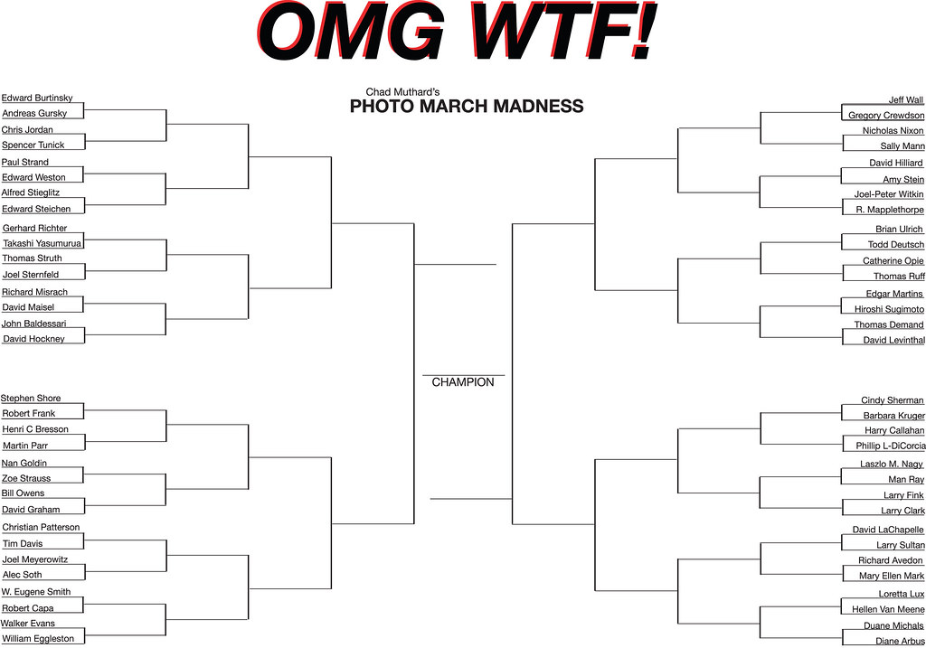 photo bracket tournament