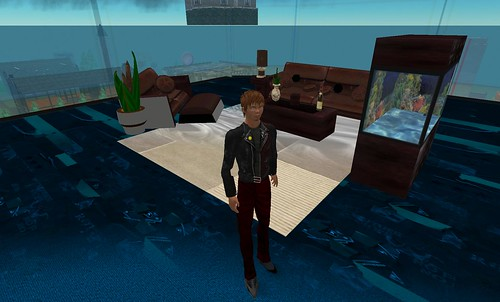 InformationWeek office in Second Life