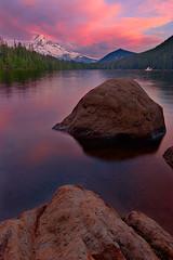 Lost Lake Sunset II (KPieper) Tags: sunset nature clouds oregon landscape bravo mthood pacificnorthwest pnw lostlake lowperspective blueribbonwinner specland kevinpieper kpieper kpieperphotography pieperphotographynet