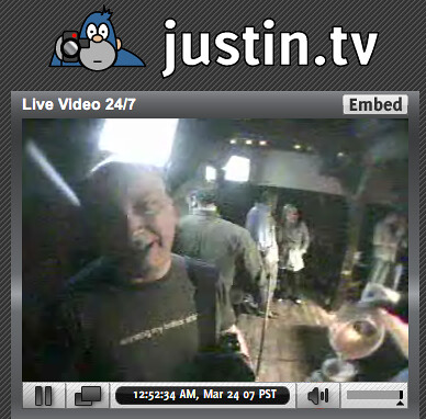 Late Night With Justin.tv, So Meta It Hurts