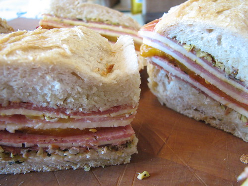 Marinated Sandwich