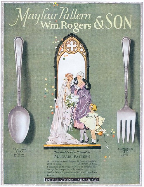 Wm. Rogers & Son Silverware, 1926