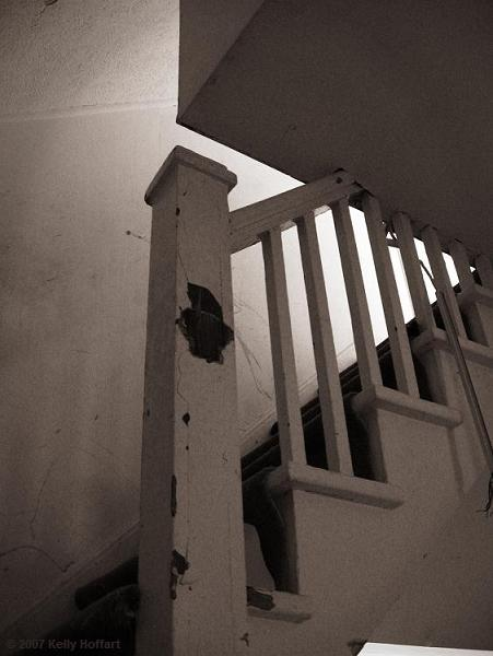 Stairway in Condemned Home