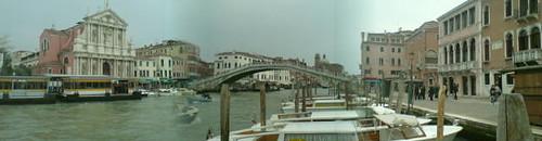 Venise: départ sous la pluie