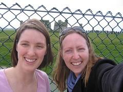 Kathrine & me at Stonehenge