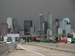 Downtown Los Angeles (So Cal Metro) Tags: storm rain skyline la losangeles downtown