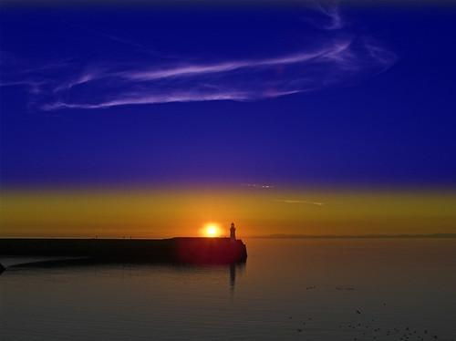 Sunset At Whitehaven