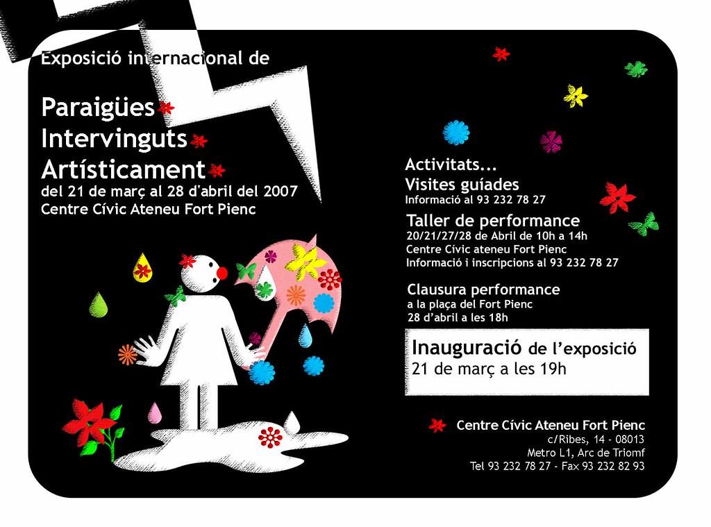 Postal invitació Proyecto paraguas