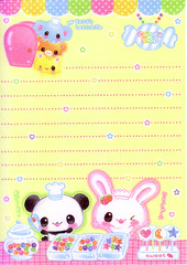 Candy Shop (lightning_lover) Tags: memo kawaii stationery notepaper