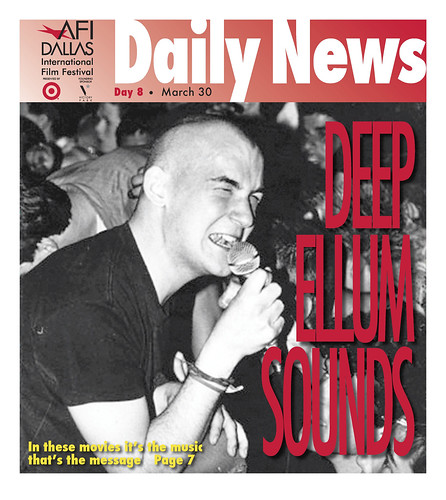 Cover AFI DALLAS Daily News, March 30
