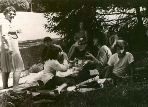 Dreyer and Freiberg picnic