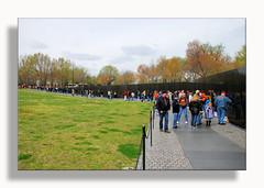 Vietnam Memorial (Dennis J2007) Tags: wall washingtondc visiting vietnamwall the d80 seasonsatthewall visitingthewall