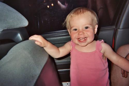 Wee Sophie, summer '03.