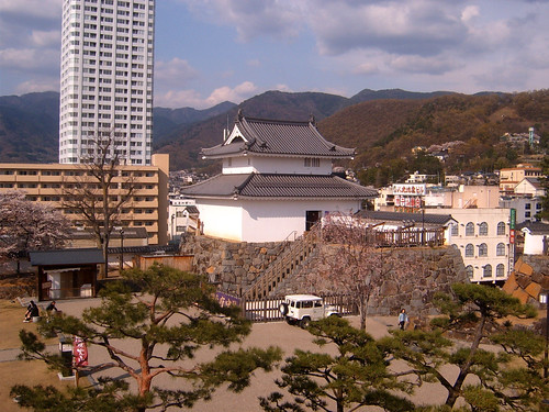 View from Kofu castle