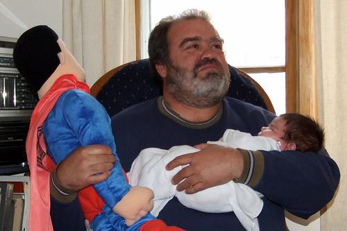 Superman, Daddoo and Jackson