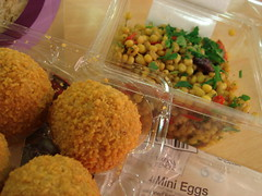 Scotch Eggs & Couscous Salad