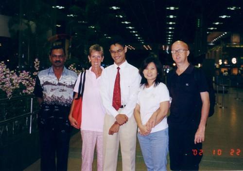 Singapore Airport Oct 2002