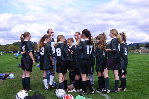 Soccer Huddle 4.14.07