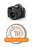 The Nikon D40x gets the TrustedReviews.com Editor's Choice Award