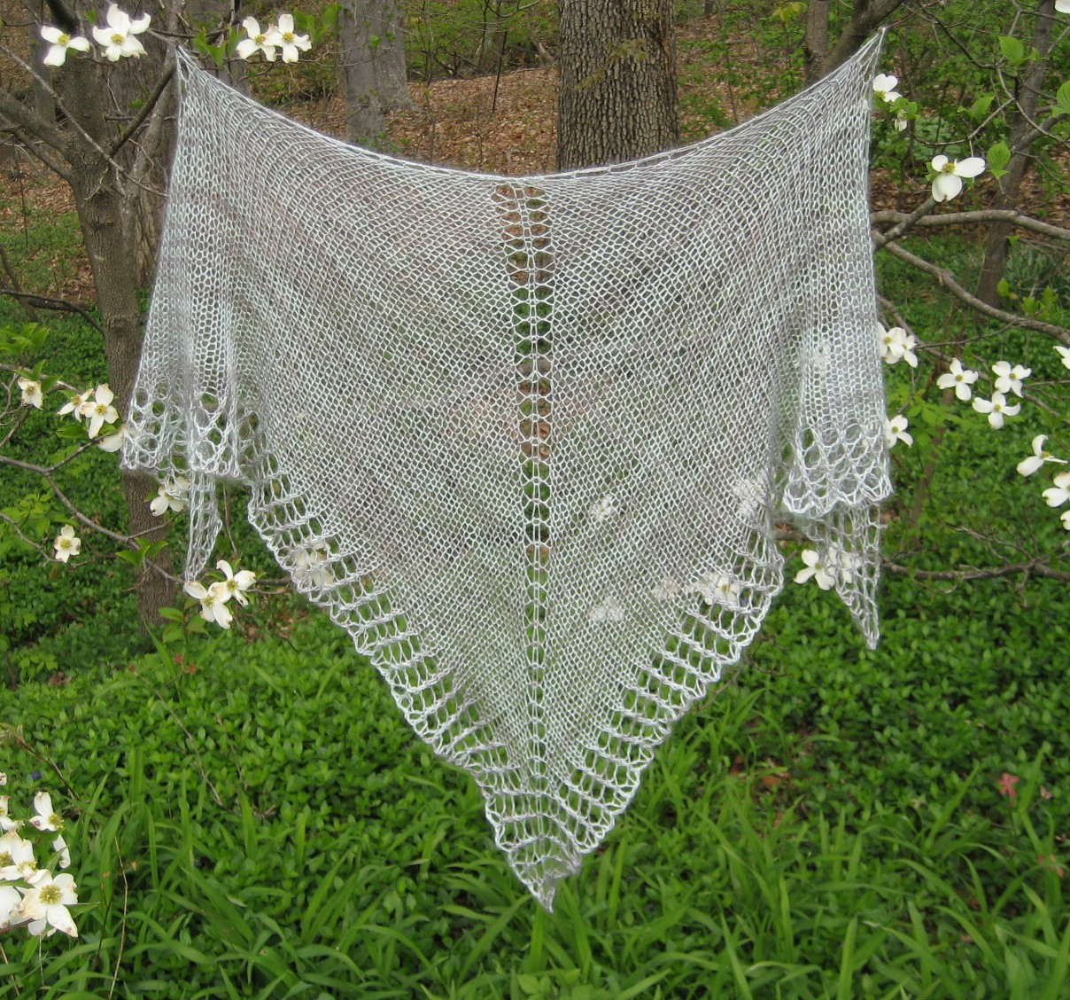 One skein Shawl