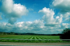 stripes (Moh Tj) Tags: blue sky cloud green nature grass clouds speed wow d50 manchester nikon nikond50 bolton 1855mm vauxhall horwich kendal zafira greatermanchester mohtj nowthatssky vauxhallzafira