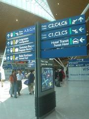 18.KLIA C航廈內的指標