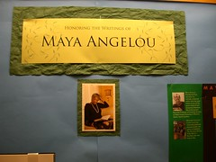 Maya Angelou's Writings Exhibit