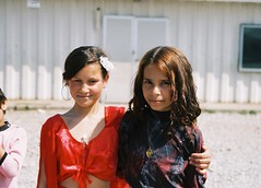 Roma girls in Montenegro - 1 (Miguel GL) Tags: portrait people roma kids faces gypsies montenegro konik podgorica collectivecentre