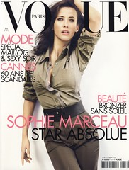 Vogue Paris Mai 2007 (Ze Cali Fairy) Tags: fashion cover mariotestino sophiemarceau frenchvogue vogueparis carineroitfeld tompcheux tompecheux
