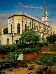 """CHIJMES"" from a Convent to an Entertainment Hub, Singapore (williamcho) Tags: school chijmes photoshop singapore catholic entertainment convent touristattraction civicdistrict stainedglasswindows girlsschool chij blueribbonwinner supershot canona640 anawesomeshot travelerphotos flickrelite pubsrestaurants"